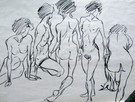 Lots o life drawings 3 by SakariSingh