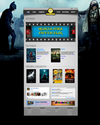 Cinema Website by joaopedro007