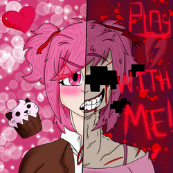 Play With Me (Natsuki: DDLC) by YaoiLover113