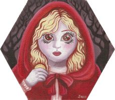 Little red riding hood by HellbeeretH