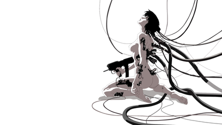 Ghost in the Shell Wallpaper by MobiusZeroOne