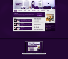 Frizzy Website Project by Lukezz