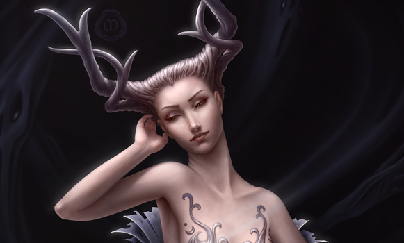 Hel - Details (Bust) by TheArtfulMegalodon