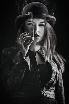 A. - Film Noir by XaviRoStudio