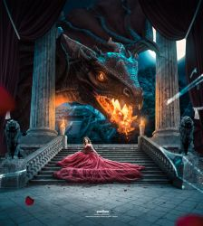 The Last dragon - Advanced Photoshop Manipulation by Andrei-Oprinca