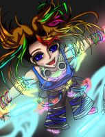 The Raver by xAngelicShadowx
