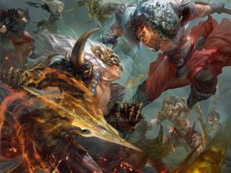 Xuan Yuan Legend Poster by HugeClaw
