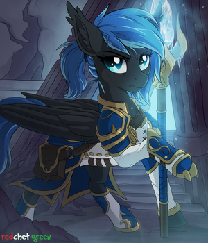 YCH  Frost Mage by RedchetGreen