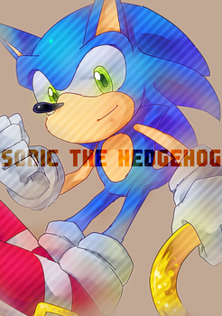 THE FASTEST HEDGEHOG by kzmn