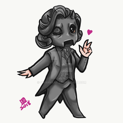 Ghoulette Chibi by swankkat