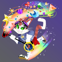 Blinx the Time Sweeper by ScarTrixx