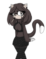 Miriam the cat by Kitty-the-tiger