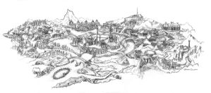 Middle Earth - theme park by lunatteo