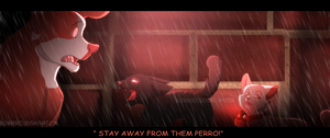 Leave them alone! by blowber