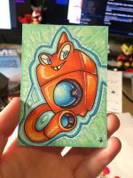 Wash Rotom [ Artist's Trading Card ]