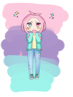 Pastel Girl by HimekoAkashi