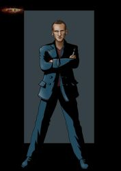 9th doctor by nightwing1975