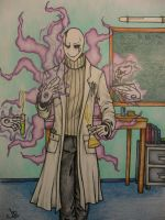 Science! Mr. Gaster by Carmabal