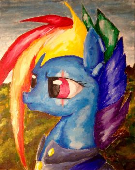 rainbow Dash Color Sceem paintings by ColorSceemPainting
