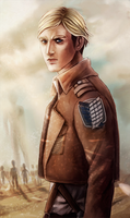 Erwin Smith by Corvidajor