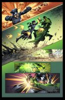 Green hornet Page by Eddy-Swan-Colors