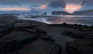 Black Beach by MathiasZamecki