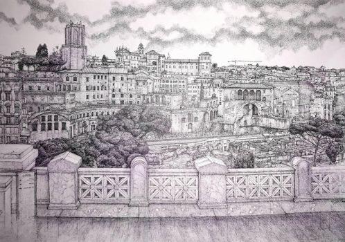 The Eternal City (2)  by edwin-Huang