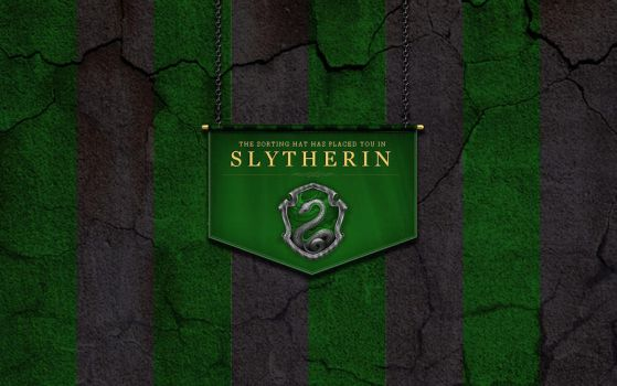 Slytherin Wallpaper by ShaneBlack