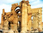 Palmyra Ruins - Three by xxchef