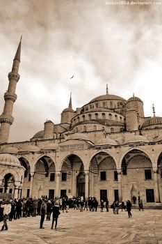 Sultan Ahmed Mosque by Drazen1804