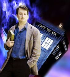 David Mitchell Doctor Who by TheImaginationKnight