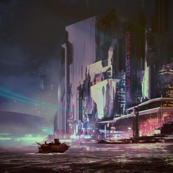 Isle of Neon by VincentiusMatthew