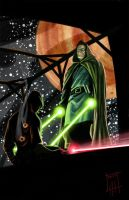 Never mess with a Jedi by deralbi