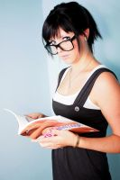 Reading Woman 16453196 by StockProject1