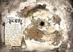 Fantasy Map by IsmaelHernandezArt