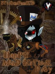 Steampunk'd - Mad Hatter Day by PlayboyVampire