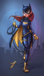 Batgirl Sketch by stroggtank