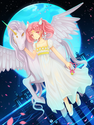 Princess and Guardian by larienne