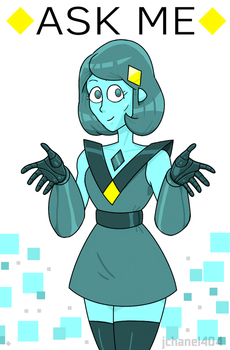 A S K   M E  (Turquoise) by Jchanel404