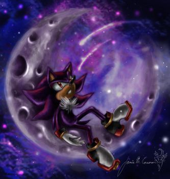 Awake In The Moonlight by 0Corcoran