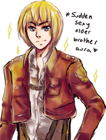 Armin: now with 400% more sparkles by Tayday12