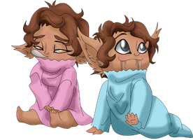 Cam and Yvette Babies by LostSoul-Mumei