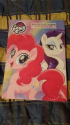 My Little Pony milk chocolate calendar by EgonEagle
