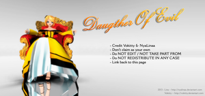 [MMD] Daughter Of Evil - Rin [DL] by NyaLinaa