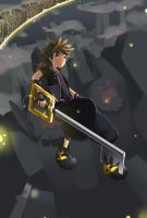 Fanart: Sora (Kingdom Hearts) by BraveryPixel