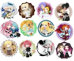 Love: Chibi Collection by Jusace