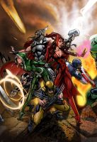 uncanny avengers 1 ITS by intheswamp