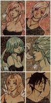 aceo sketch cards 001 by pencil-butter
