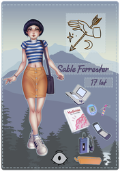 [MoW] Sable Forrester by Lilami