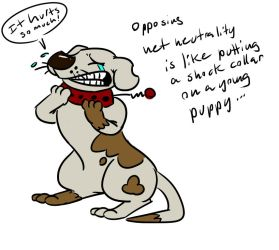 Net Neutrality - Keep It free like a happy pupper by LaughingSkeleton